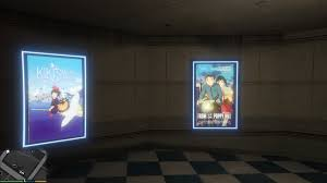 studio ghibli movie posters and anime billboards gta5 mods com