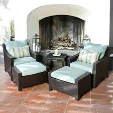 Patio Chair With Ottoman Showy Patio Chair With Ottoman Set Design Captivating Charming