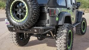 jeep wrangler jk tires 2007 2017 jeep jk venom tire mount road bumpers