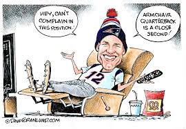 Armchair Quarterback Game Granlund Cartoon Armchair Quarterback News The Times News