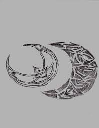 celtic and tribal moon designs by kleidausrosen on deviantart