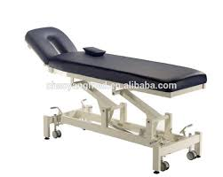portable physical therapy table physical therapy equipment 2 section hi low electric massage table