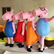 halloween adults games aliexpress com buy high quality pink pig cartoon character