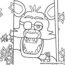 fnaf christmas coloring pages coloring