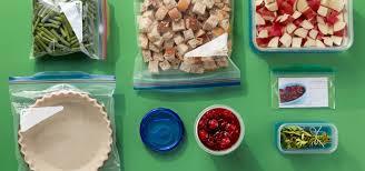 comidas para thanksgiving ziploc 7 consejos para preparar alimentos para un banquete