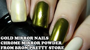 gold mirror nails on gel nail polish born pretty store gold