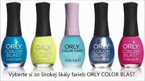 orly color blast a color care manikúra grafity návod youtube