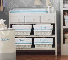 Changing Table Shelf Ultimate Changing Table Pottery Barn