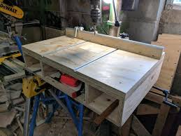 Drill Press Table Drill Press Table With Plans Not Fancy But Useful Woodworking
