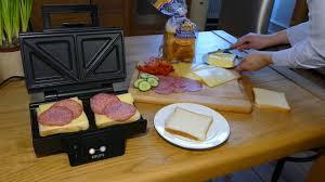 Krups Sandwich Toaster Sandwichmaker Zubereitung Von Sandwiches Im Krups Fdk 451