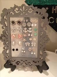 store stud earrings best 25 stud earring organizer ideas on diy jewelry