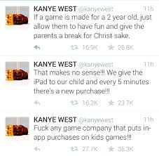 App That Makes Memes - kanye west on twitter discovers in app purchases for kids meme