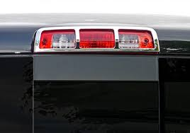 Tfp Dodge Ram Chrome Third Brake Light Cover Autotrucktoys Com