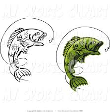 royalty free stock sports designs of fishing logos