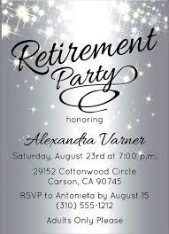 free retirement party flyer template mentan info