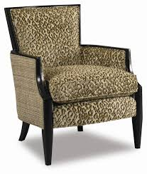 Upholstered Club Chairs by Upholstered Exposed Wood Accent Chair By Sam Moore Wolf And