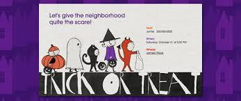 don u0027t be scared get kid u0027s halloween invitation wording tips evite