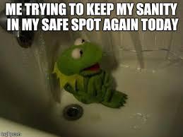Depressed Frog Meme - depressed kermit meme generator imgflip