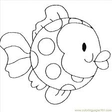 coloring pages for kindergarten preschool rainbow fish coloring sheet to print for free creative