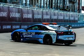 modified bmw i8 photos new livery for bmw i8 safety car at eprix in new york city