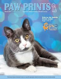 paw prints winter 2017 by humane society of broward county issuu