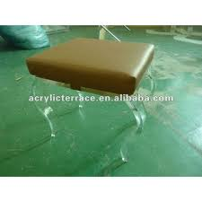 Lucite Vanity Bench Plexiglass Stool Plexiglass Stool Suppliers And Manufacturers At