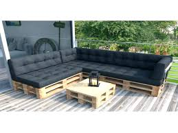 coussin pour canapé palette coussin pour palette les canapes en bois coussin pour canapac