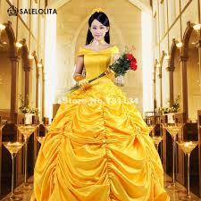 aliexpress buy 2016 beauty beast costume yellow