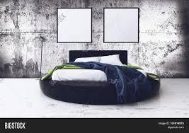 round bed minimalist framed artwork image u0026 photo bigstock