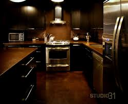 bathroom delectable dark kitchens wood and black kitchen