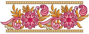 design embroidery saree border designs for embroidery machines for may 2018