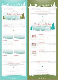 9 christmas newsletter templates to create printable and e