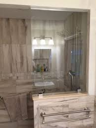 just installed a glass shower door keep it clean and clear of