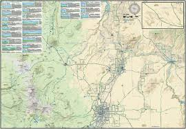 Map Of Bend Oregon by Central Oregon Road Biking Map U0026 Guide Adventure Maps