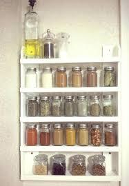 cabinet door mounted spice rack cabinet door spice storage kitchen door spice rack door mount