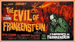 hammer horror film reviews evil of frankenstein 1964 youtube