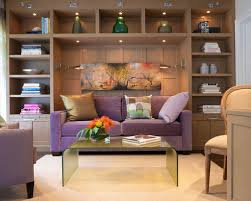 Living Room With Sofa Office With Sofa Houzz
