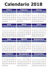 Kalender 2018 Helgdagar Spansk Kalender 2018 Vektor Illustrationer Bild Av Marsch 85649129