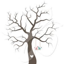 wedding tree template eliolera com