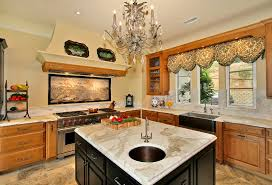 Valances For Kitchen Bay Window Magnificent Valances Window Treatments In Kitchen Contemporary