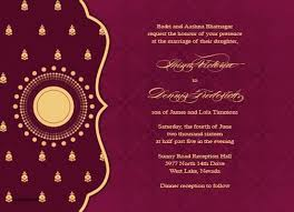 indian wedding invitation cards wording ideas marriage invitation