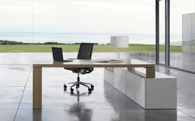 executive desk wooden metal contemporary p60 by mario ruiz