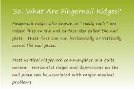 eliminate ridges in fingernails now