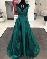 green prom dresses long prom dress v neck prom dress cheap prom