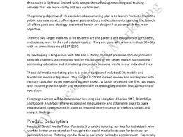 sample social media tactical plan sample social media marketing