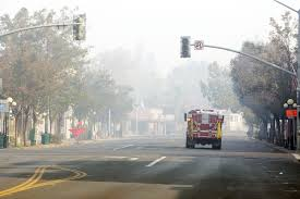 Wildfire Update by Morning Update Circumstances Better In Napa But Advisory