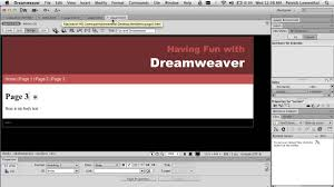 tutorial website dreamweaver cs5 dreamweaver html 5 for beginners creating a simple website