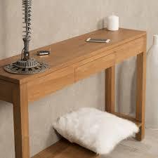 console pour chambre console de salon en bois de teck massif moderne rectangle