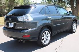 lexus rx blue 2009 lexus rx 350 awd victory motors of colorado