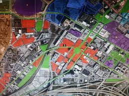 Map Of Atlanta And Surrounding Areas by My Proposal For Underground U0026 Trinity Broad District U2013 Georgia
